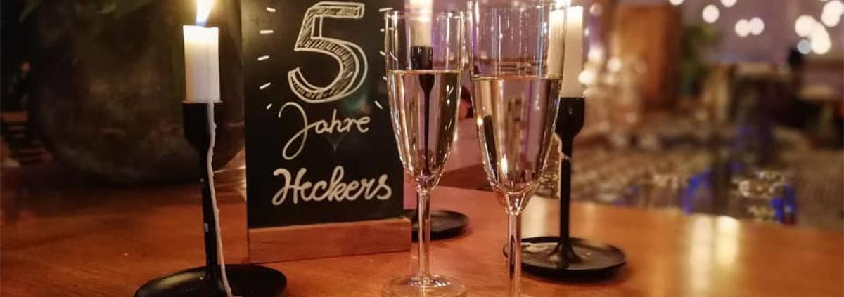 5 Jahre Heckers Restaurant Jubiläum