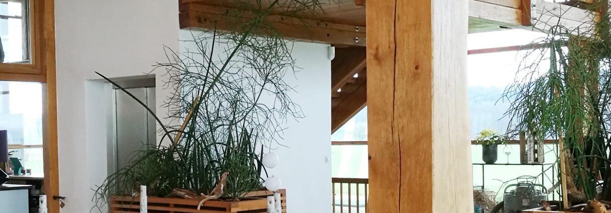 Betriebsferien im Heckers Restaurant - jetzt wird geputzt, gestrichen und aufgeräumt.