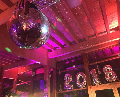 Hollywood Silvester Party in unserem Restaurant Heckers